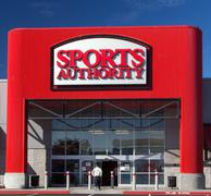 Stock Photo of sports authority store