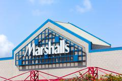 marshall department store exterior. - stock photo