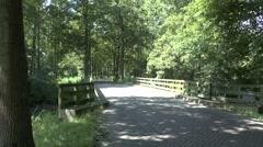 The Willem Hikspoorsburg bridge on the NE edge of Eindhoven, the Netherlands. Stock Footage