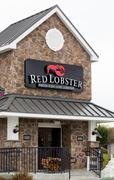 Red lobster retaurant exterior Stock Photos