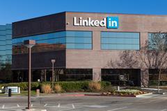 linkedin corporate headquarters - stock photo