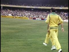 Australian Cricket 1980s Stock Footage