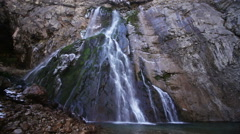 Gegsky Waterfall in the Republic of Abkhazia North Caucasus Stock Footage