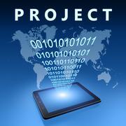 Project Stock Illustration