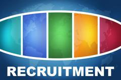 Recruitment Stock Illustration