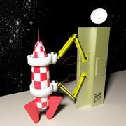 rocket - stock illustration