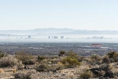 Vegas haze Stock Photos