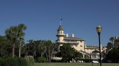 Jekyll island club hotel, building, ga, usa Stock Footage