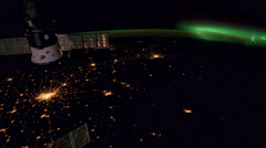 Earth From Space, International Space Station, Earth Orbit, 4K, UHD - stock footage