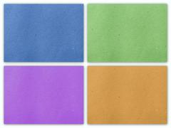Paper texture. collection background template for design work Stock Photos