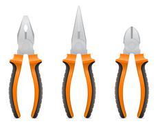 Stock Illustration of tool pliers vector illustration