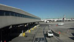 Salt Lake City Utah international airport 4K 006 Stock Footage