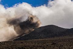 Volcano Etna Eruption and lava flow Kuvituskuvat
