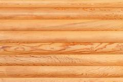natural background from log wall. - stock photo