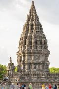 prambanan temple, yogjakarta, indonesia - stock photo