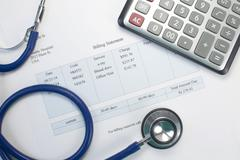 medical bill - stock photo
