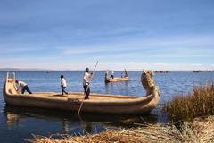 Stock Photo of lake titicaca