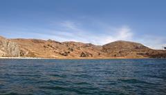 lake titicaca - stock photo