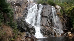 Steavenson Falls Stock Footage