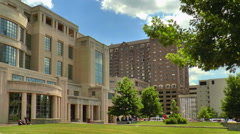 Government Buildings in Lexington, Kentucky Stock Footage