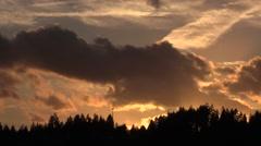 Sunset, Seattle, WA Stock Footage