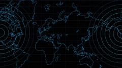 Earth Map Background  07 Stock Footage