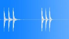 WOOD DOOR KNOCK Sound Effect