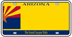 Arizona state license plate Piirros