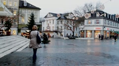 Christmas  in Baden-Baden Stock Footage