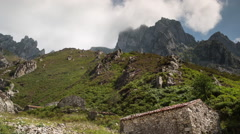 Stock Video Footage of picos de europa fuente de timelapse mountains spain spectacular summer