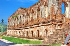 Archaeological site Stock Photos