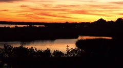 Florida sunset Stock Footage