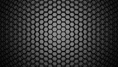 gray hexagon wire - stock footage
