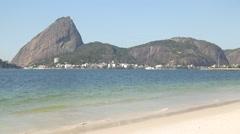 Sugarloaf  Mountain (Pão de Açúcar) - Rio de Janeiro - Brazil Stock Footage