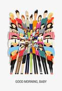 Crazy people Stock Illustration