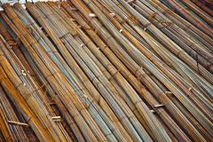 iron for concrete armoring at the construction site - stock photo