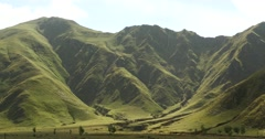 4k Tibet mountaintop & valley,roof of the World. Stock Footage