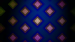 Rhombus tile pattern Stock Footage
