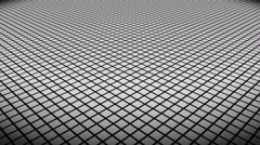 White rhombus floor Stock Footage