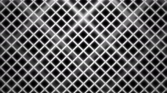 white rhombus wire - stock footage