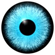 Blue eye - stock illustration