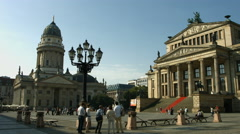Gendarmenmarkt square Berlin Stock Footage