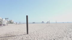 Long Shot of Huntington Beach Pier Stock Footage