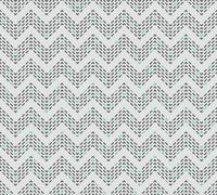 Dashed grey and mint chevron seamless pattern Stock Illustration