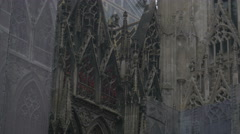 Vienna Stephen's cathedral _4 4K Stock Footage