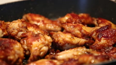 Chicken wings Stock Footage