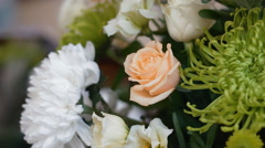 Elements of decoration for the wedding Stock Footage