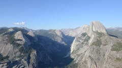 Yosemite Glacier Point TImelapse Sunset 1080p Stock Footage
