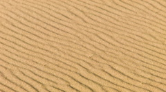 Sandstorm in desert, close up Stock Footage
