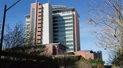 Clark County Courthouse HD (Regional Justice Center) (Static Shot) Stock Footage